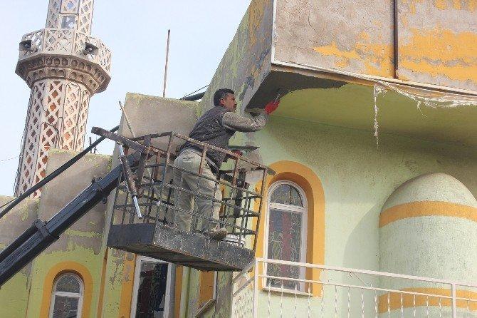 Müdürlükler Seferber Oldu Camiler Hizmetle Donatıldı
