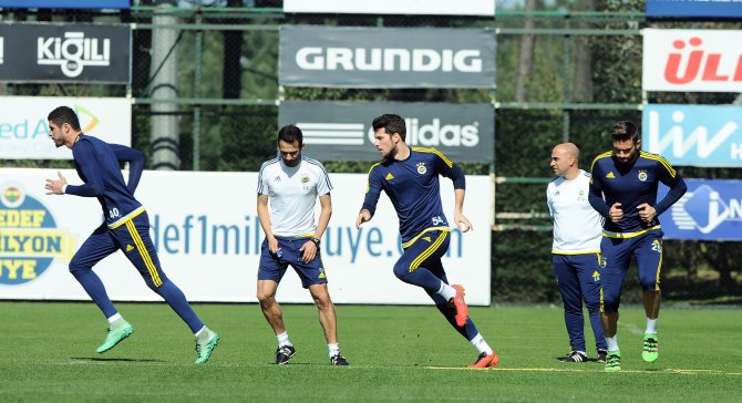Fenerbahçe, Kayserispor maçı hazırlıklarına başladı