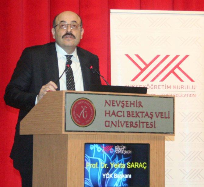 YÖK Kültür-Sanat Söyleşileri'nin üçüncüsü gerçekleştirildi