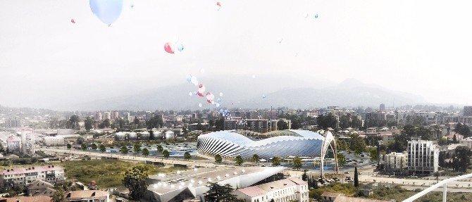Türk Mimardan Batum'a Yeni Stadyum