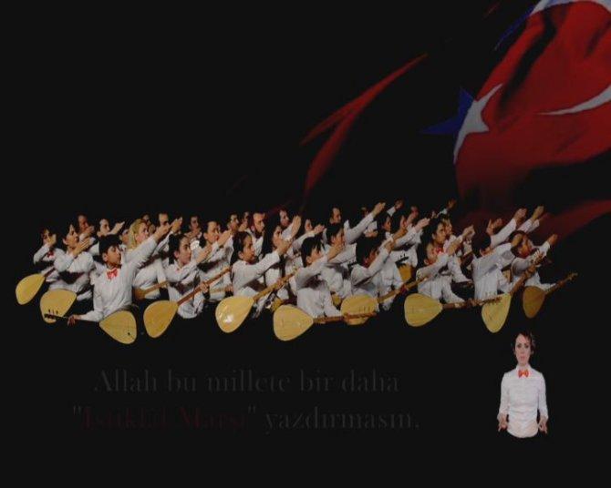 'İşitmeyen kalmasın' dediler, işaret dili ile İstiklal Marşı klibini çektiler