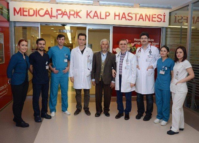 4 Santimlik Kalp Deliğine Cerrahisiz Müdahale