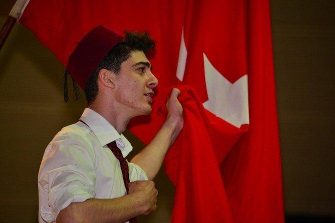 "Erbaa'da ""7'Den 70'e İstiklal Marşı"" Klibi"