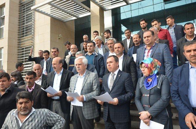 Kahta'da Kemal Kılıçdaroğlu'na Suç Duyurusu