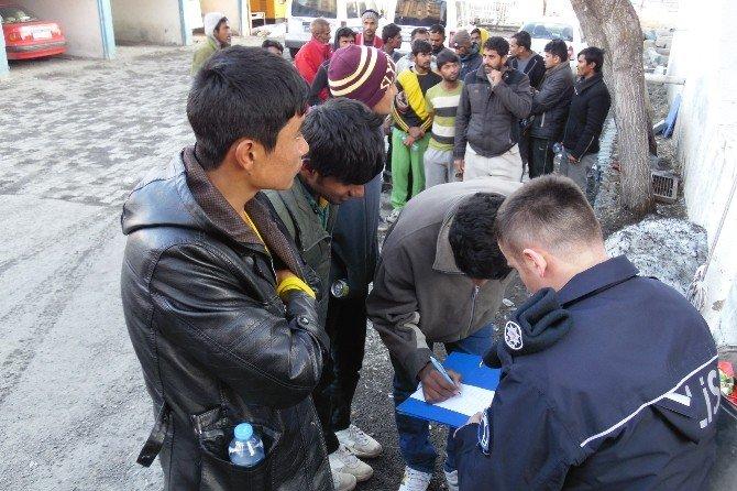 Kaçakların Avrupa Hayali Eleşkirt'te Son Buldu