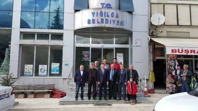 AK Parti İl Başkanından Başkan Yiğit'e Ziyaret