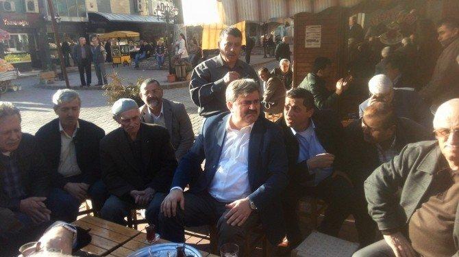 Milletvekili Çaturoğlu Vatandaşlarla Buluştu