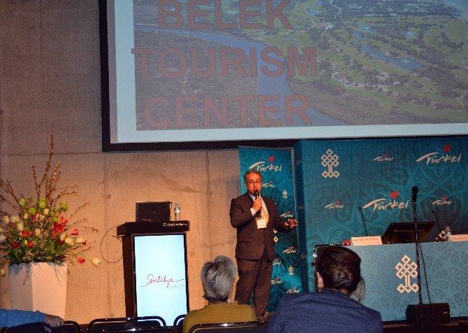 Antalya'nın Spor Turizmi Berlin'de Tanıtıldı