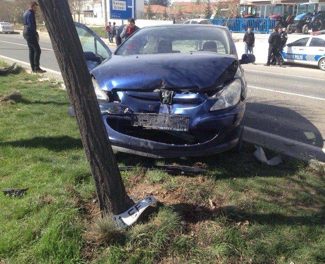 Polatlı'da Trafik Kazası: 4 Yaralı
