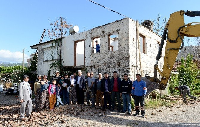 Kumluca'da Kentsel Dönüşüm Çalışmaları