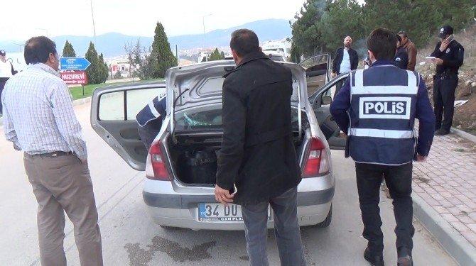 Bilecik'e Giriş Yapan Yabancı Plakalı Araçlar Arandı