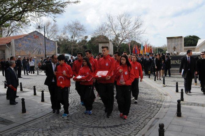Çanakkale Savaşları'nın 101'inci yıl dönümü törenleri başladı