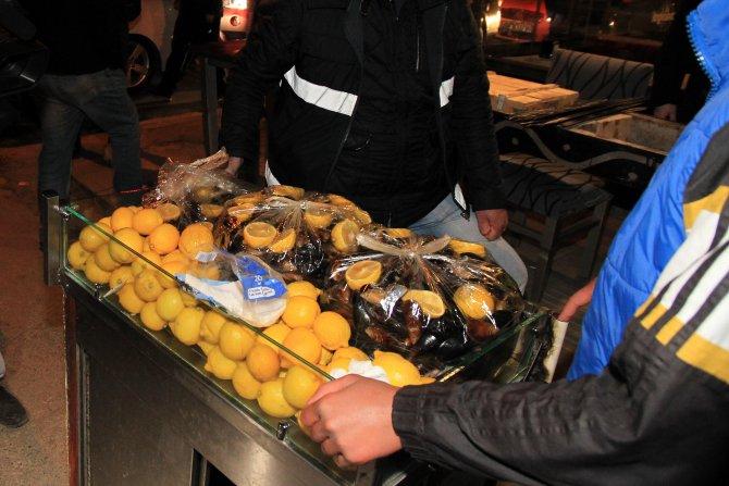 Çankaya'da seyyar satıcılara operasyon