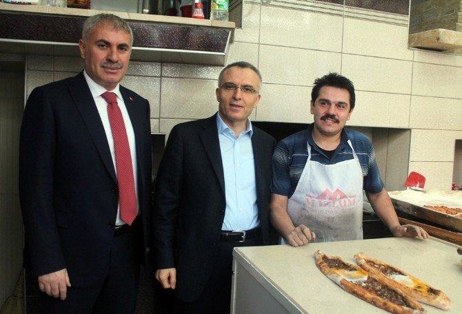 Maliye Bakanı Ağbal'ın Bayburt Ziyareti