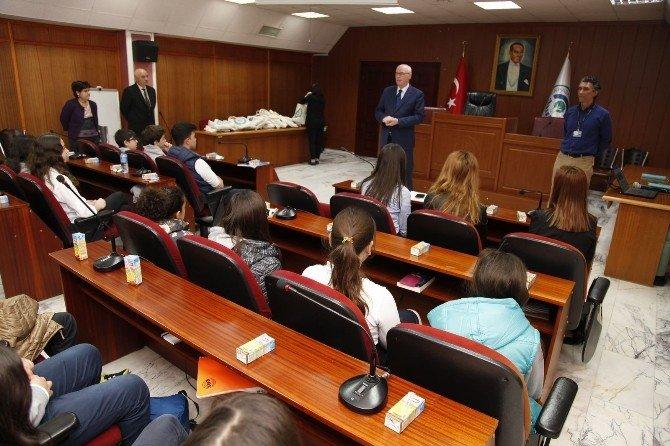 Öğrencilere Arıköy Projesi Tanıtıldı