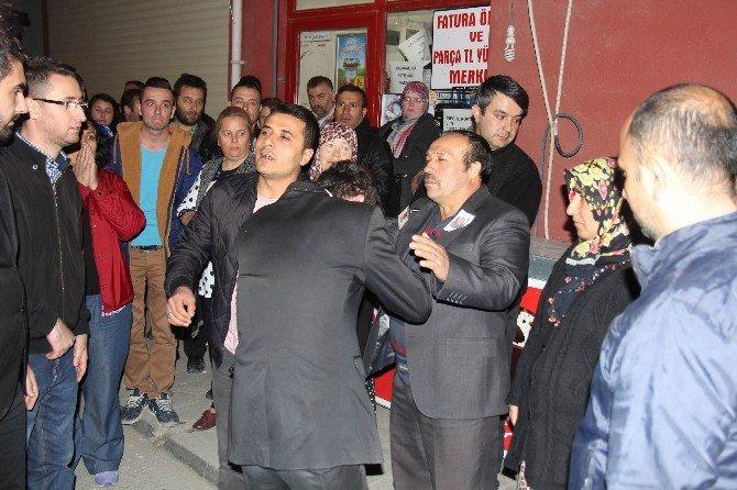 Eskişehir'de Şehidin Baba Ocağına Taziye Konvoyu
