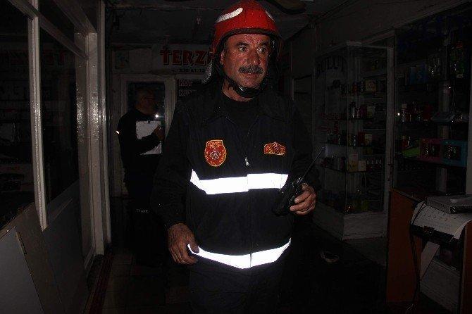 Gaziantep'te Halep Çarşısında Yangın