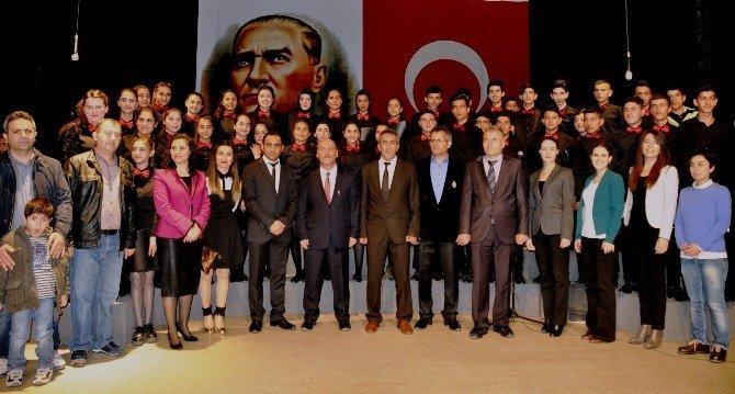 Iğdır'da İstiklal Marşı'nın Kabulünün 95'inci Yıl Dönümü Kutlaması