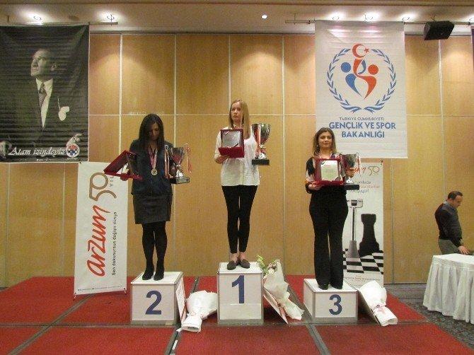 Arzum Türkiye Kadınlar Satranç Şampiyonası Sona Erdi