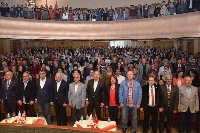 İstiklal Marşı'nı En İyi Okuyan Öğrenciler Seçildi, Ödüllendirildi