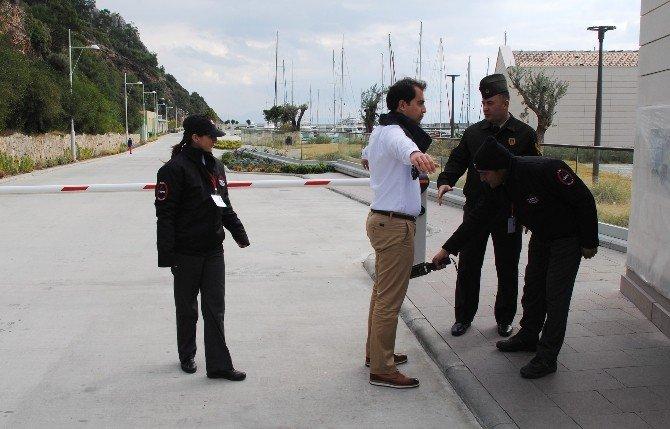 Özel Güvenlikçilere Jandarmadan Uygulamalı Eğitim