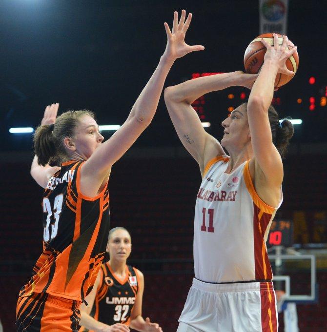 Galatasaray, Ekaterinburg'u 66-57 yendi, seriyi 1-1'e getirdi