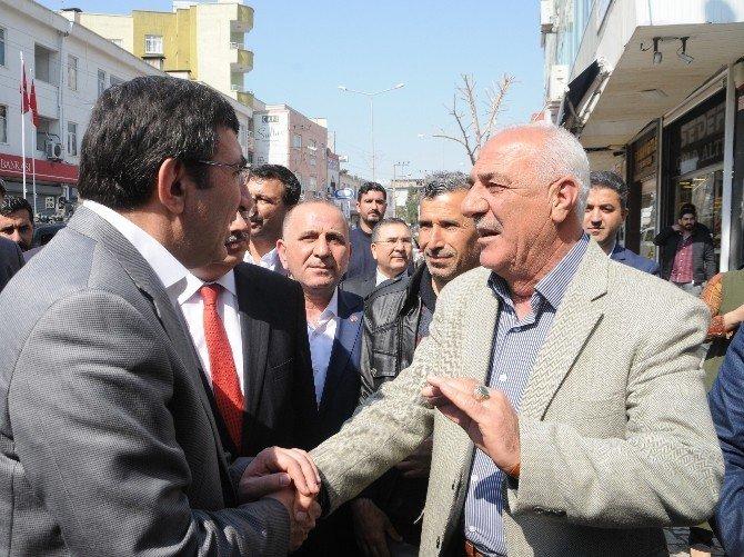 Bakan Yılmaz Cizre'de