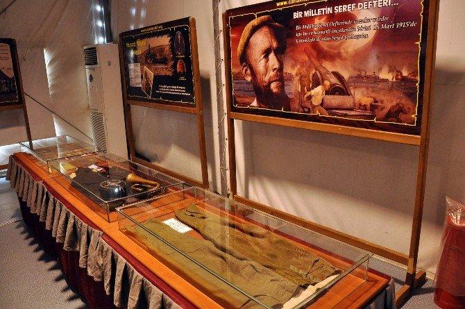 Kartal'da, Çanakkale Savaş Malzemeleri Sergisi Açıldı
