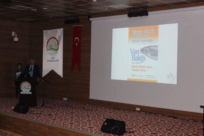 Van'da 'İnci Kefali Göçü' Toplantısı Yapıldı