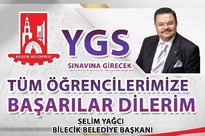 Bakan Yağcı YGS'ye Girecek Öğrencilere Başarılar Diledi