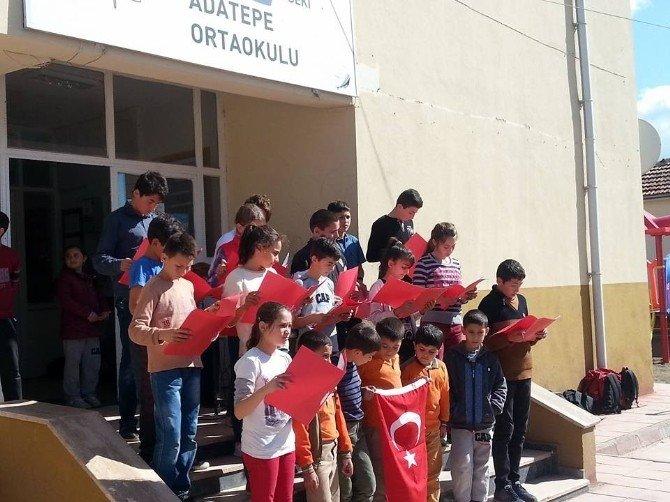Lapseki'de İstiklal Marşı'nın Kabulünün 95. Yıl Dönümü Etkinliği