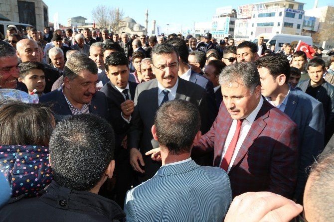 Malatya'da Bayrak Yürüyüşüne, Gümrük Ve Ticaret Bakanı Tüfenkci De Katıldı