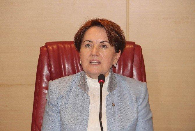 Tekirdağ'da Meral Akşener İzdihamı
