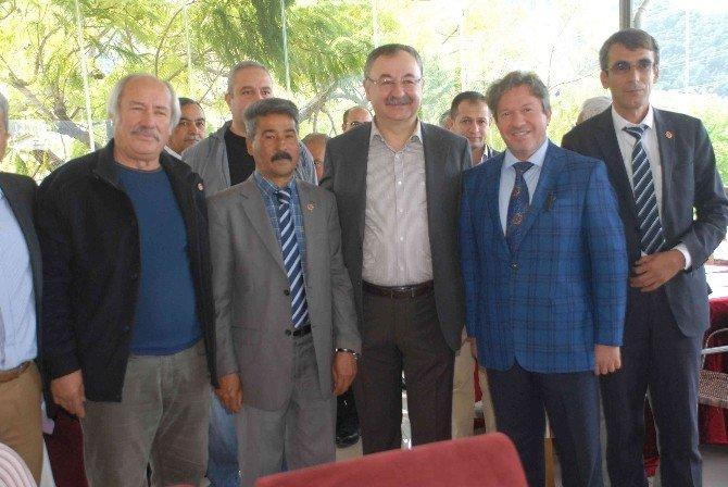 Özyer, Muğla'yı Kalkındıracak Projelerin Yüzde 75'inin Tamamlandığını Müjdeledi