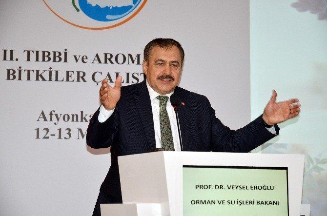 Orman Ve Su İşleri Bakanı Prof. Dr. Veysel Eroğlu Afyonkarahisar'da