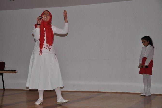 Pınarbaşı'nda İstiklal Marşının Kabulü Kutlandı