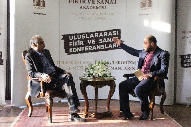 Prof. Dr. Ziyaüddin Serdar, Akademide Konferans Verdi