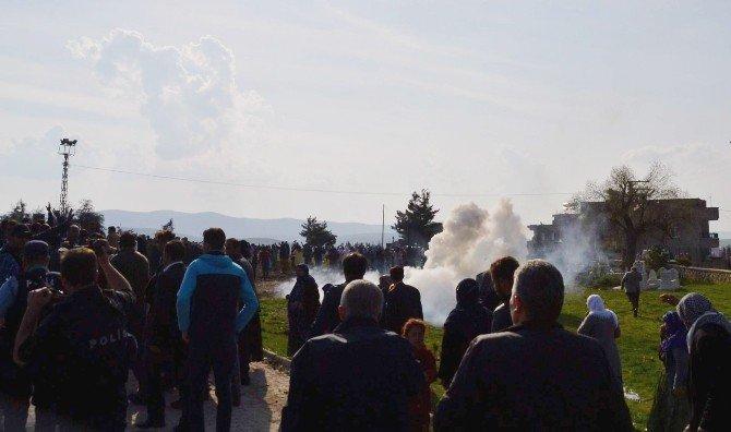 Siirt'te Cenaze Gerginliği