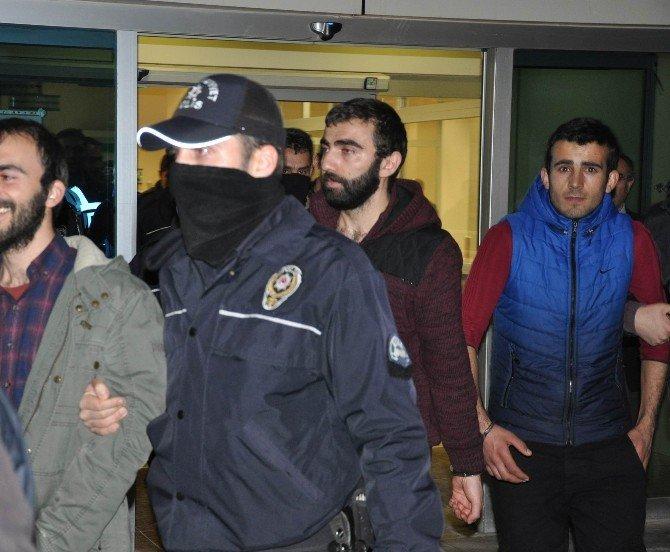 Sivas'ta Terör Operasyonunda 11 Kişi Tutuklandı