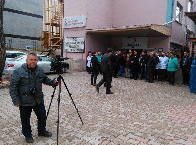 İstiklal Marşı Klibi İçin İlçe Halkı Kamera Karşısına Geçti