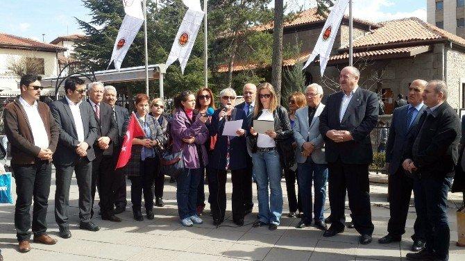 Türk Eğitim-sen İstiklal Marşının 95. Yıl Dönümünü Andı