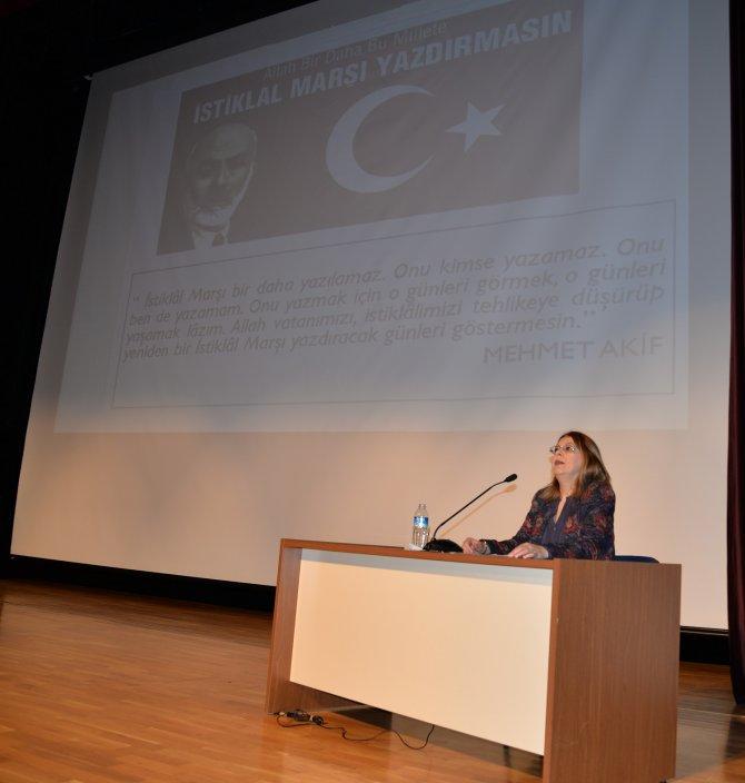 """""""İstiklal Marşı, bizi millet yapan en temel metinlerden birisidir"""""""