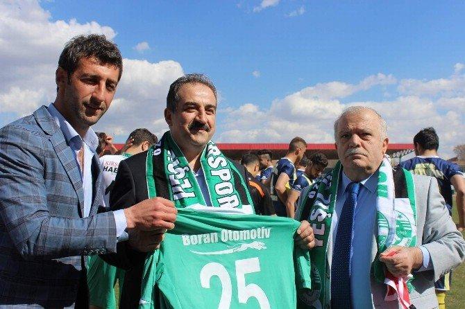 Vali Şentürk'den Kırşehirspor'a Destek Sözü