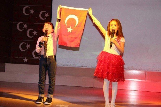 Yozgat Çözüm Koleji Öğrencileri İstiklal Marşını Güzel Okumak İçin Yarıştı