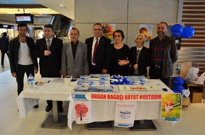 Zonguldak Diyaliz-organ Nakli Derneğinden Organ Bağış Standı