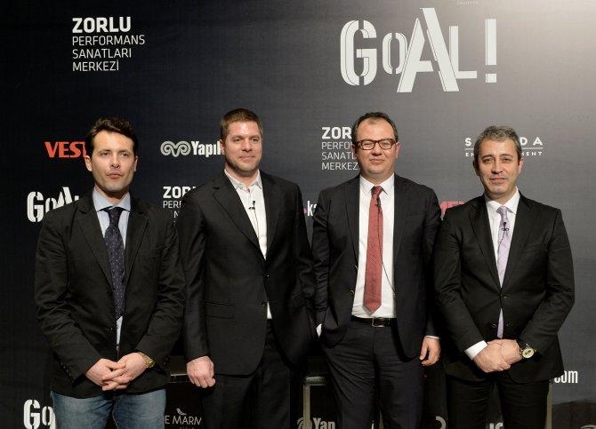 Futbol ailesi, GOAL! Sergisi'nin açılış davetinde buluştu