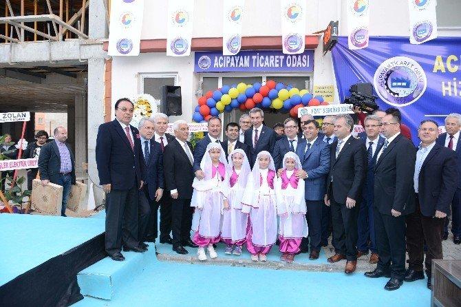 Acıpayam Ticaret Odası'nın Yeni Hizmet Binası Açıldı