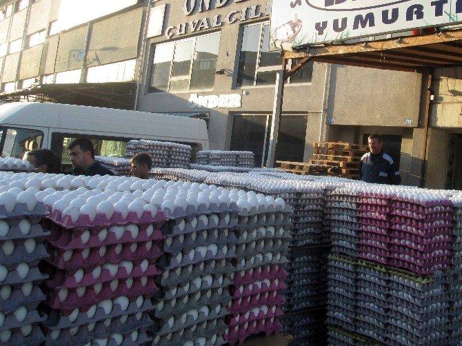Başkent'te 'Bozuk Yumurta' Operasyonu