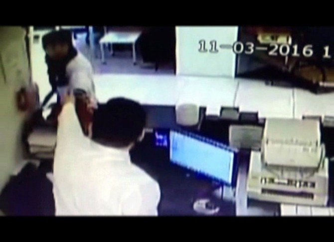 Pompalı Tüfekle Banka Soyan Şahıs Yakalandı