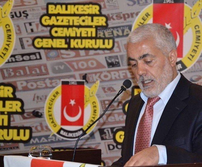 Balıkesir Gazeteciler Cemiyeti'nde Genel Kurul Heyecanı